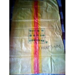 Bao PP lồng PE xuất khẩu Hàn Quốc
